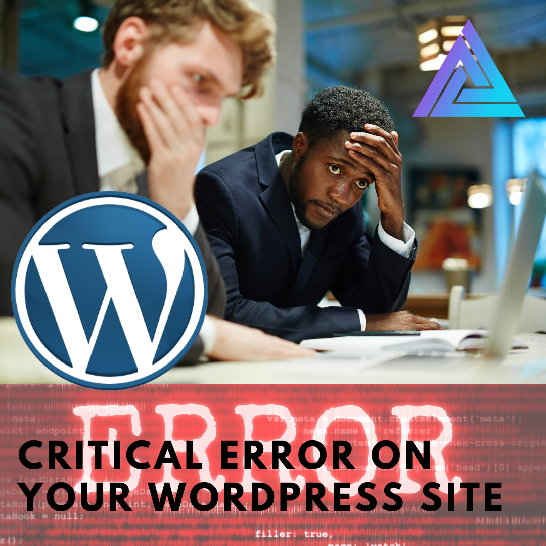 critical error on wordpress site