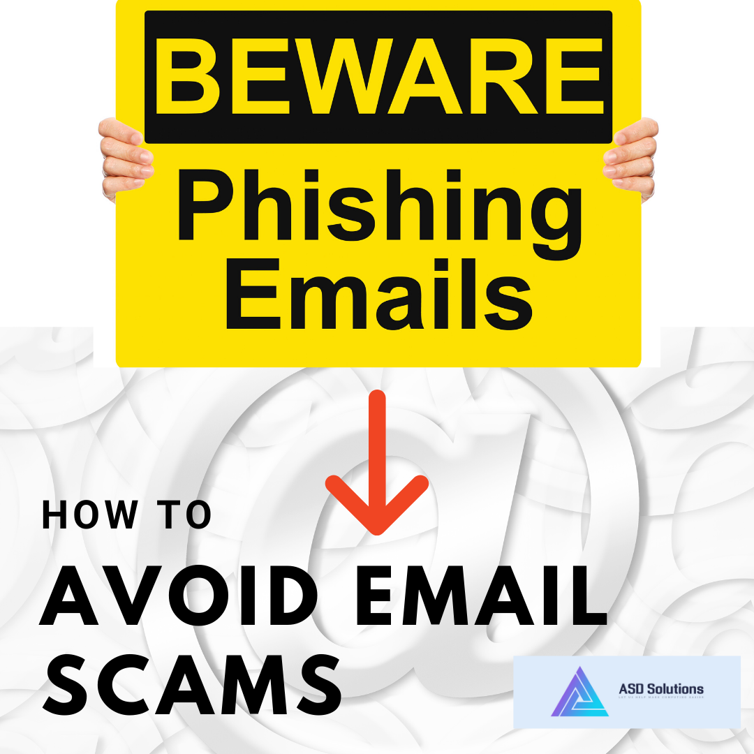 how to avoid email scams-asd solutions