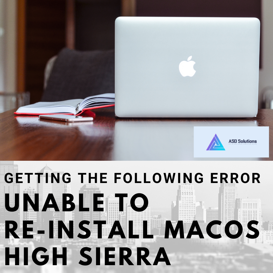 unable-to-re-install-macOS-High-Sierra-asd-solutions